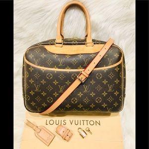 Authentic Louis Vuitton Deauville #4.8T